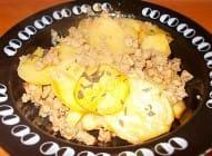 Musaka od krompira i tikvica