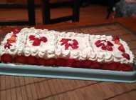 Keks torta sa jagodama