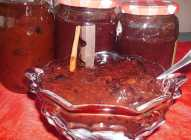 Džem od šljiva sa čokoladom, rumom i cimetom