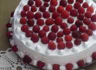 Pusla torta sa malinama