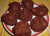 Keks sa malinama i tamnom čokoladom