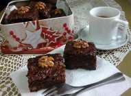 Brauni sa orasima i čokoladom