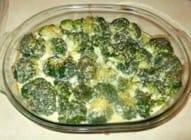Zapečeni brokuli