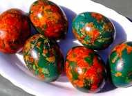 Mozaik na uskršnjim jajima