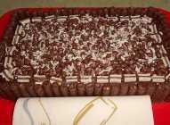 Čokoladna lešnik torta