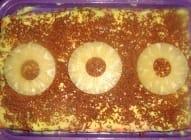 Keks torta sa ananasom