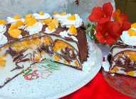 Palačinkasta voćna torta