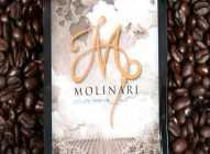 Molinari, kafa sa dodatkom vina