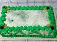 Malina-keks-ananas torta