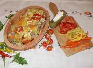 Pečeno povrće sa mlevenim mesom