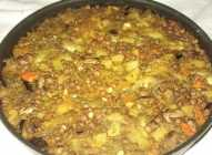 Đuveč sa povrćem, sočivom i leblebijama