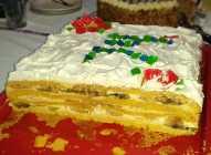 Torta s bananama i kivijem