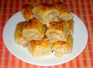 Štrudlice sa sirom i salamom