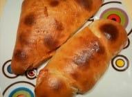 Brze piroške sa sirom i šunkom