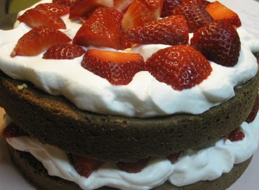 Very Berry Chocolate Cake
