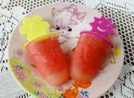 Ledeni sladoled od lubenice