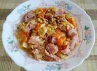 Pržena paprika i slaninica