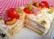 Torta sa slanim plazma keksom