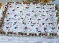 Keks torta s tri fila
