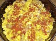 Omlet sa džigericom i jajima