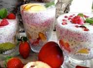 Chia puding sa voćem